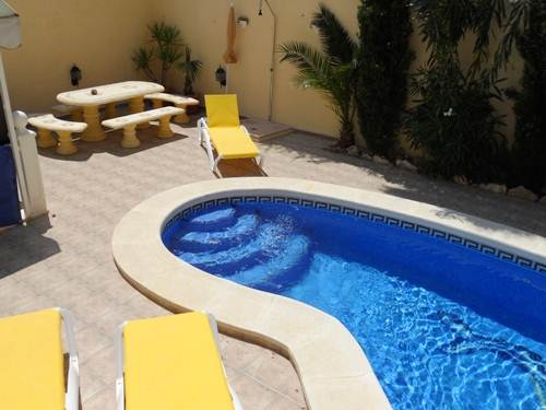 Private Pool & BBQ Area