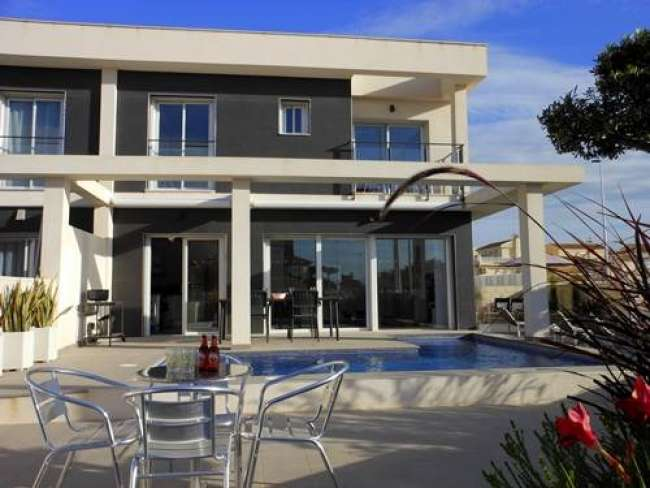 Luxury 2 bedroom 3 bathroom fully air-conditioned contemporary style villa with private pool free WiFi in Gran Alacant