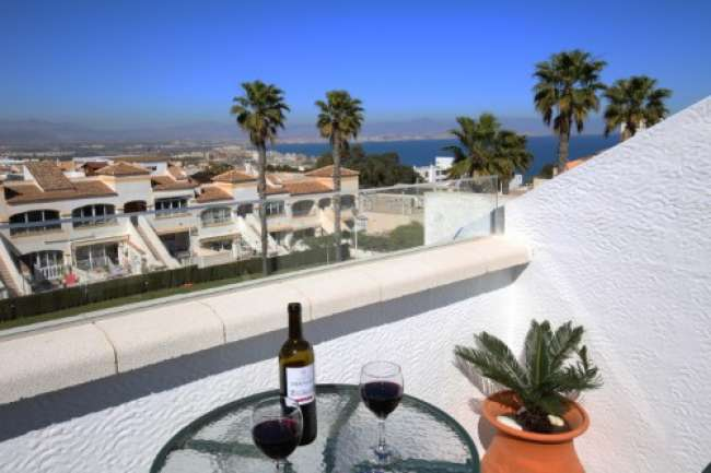 Luxury 2 bedroom air-conditioned apartment with  stunning sea and pool views for Adults Only