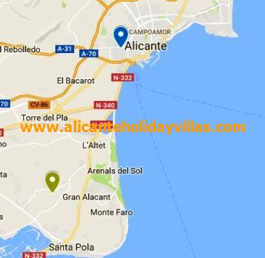 All About Gran Alacant Alicante Holiday Villas